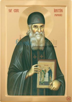 Sfântul Cuvios Iustin PopoviciSfântul Cuvios Iustin Popovici
