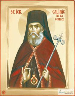 Sfântul Calinic de la Cernica. Icoana litografiată.