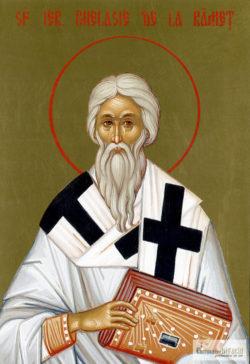 Sfântul Ierarh Ghelasie de la Râmeţ. Icoană litografiată.