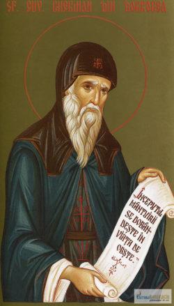 Sfântul Cuvios Gherman din Dobrogea. Icoană litografiată.