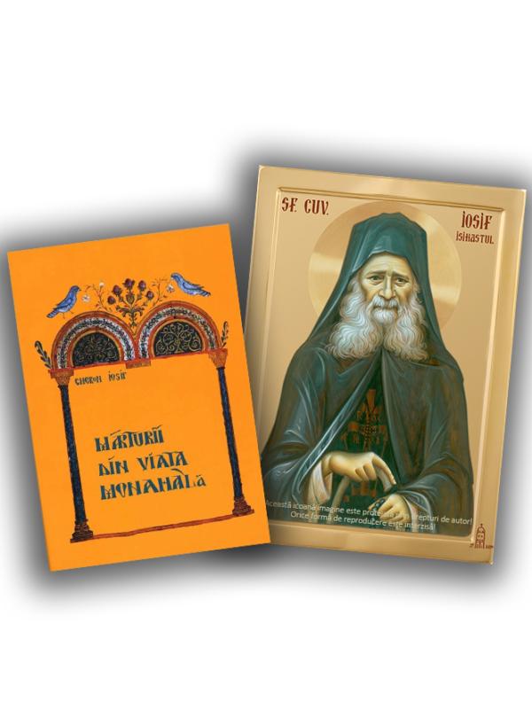 Marturii Iosif Isihastul + Icoana A4