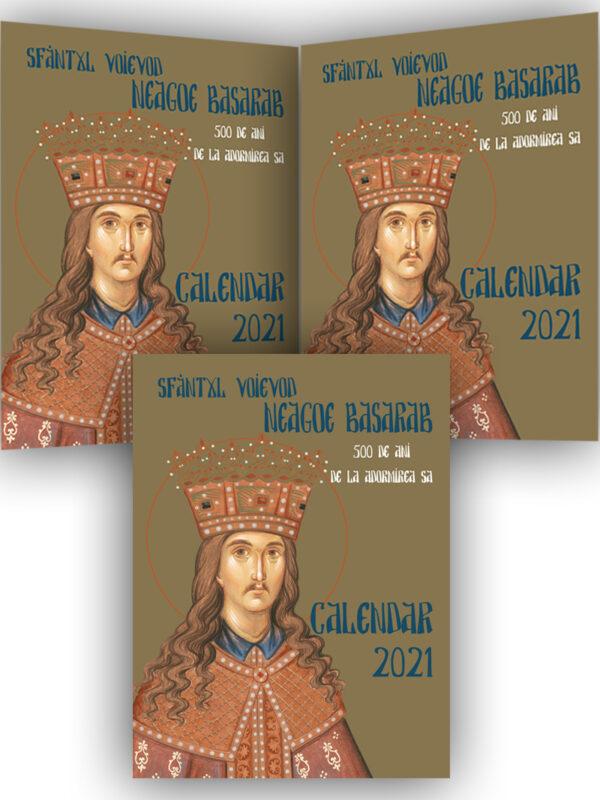 Calendar 2021 Sfântul Neagoe Basarab