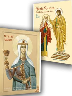 Viața Sfintei mucenite Varvara și icoana